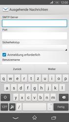 Sony Xperia E4G - E-Mail - Konto einrichten - 0 / 0