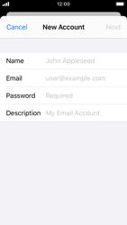 Apple iPhone SE - iOS 13 - E-mail - manual configuration - Step 7