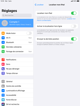 Apple iPad Air 2 - iPadOS 13 - Appareil - activéz