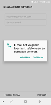 Samsung galaxy-j6-sm-j600fn-ds - E-mail - 032c. Email wizard - Outlook - Stap 11