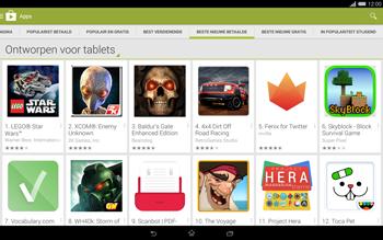 Sony Xperia Tablet Z2 4G (SGP521) - Applicaties - Downloaden - Stap 10