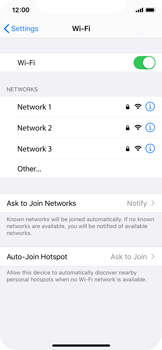 Apple iPhone 11 Pro - Wi-Fi - Connect to Wi-Fi network - Step 5