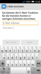 Alcatel Pop C7 - E-Mail - Manuelle Konfiguration - Schritt 9