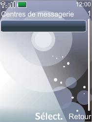 Nokia 7210 supernova - SMS - Configuration manuelle - Étape 9