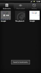 Sony LT22i Xperia P - Internet - Internet browsing - Step 9