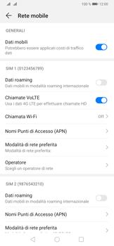 Huawei P30 - Internet e roaming dati - Disattivazione del roaming dati - Fase 6