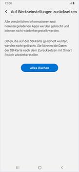 Samsung Galaxy A50 - Fehlerbehebung - Handy zurücksetzen - Schritt 10
