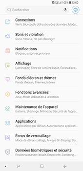 Samsung Galaxy A7 2018 - Internet et connexion - Accéder au réseau Wi-Fi - Étape 4
