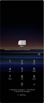 Sony Xperia 1 - MMS - Manuelle Konfiguration - Schritt 22
