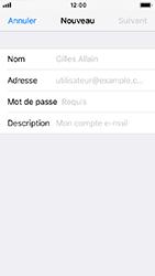 Apple iPhone 5s - iOS 12 - E-mail - Configuration manuelle - Étape 8