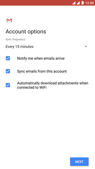 OnePlus 3 - Android Oreo - E-mail - Manual configuration IMAP without SMTP verification - Step 19