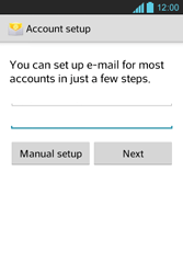 LG E610 Optimus L5 - Email - Manual configuration POP3 with SMTP verification - Step 7
