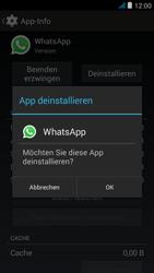 Wiko jimmy - Apps - Eine App deinstallieren - Schritt 7