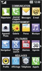 LG GD510 Pop - Internet - Navigation sur Internet - Étape 2