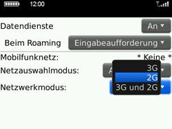 BlackBerry Bold - Netzwerk - Netzwerkeinstellungen ändern - 2 / 2