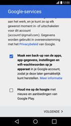 LG K10 4G - Applicaties - Account aanmaken - Stap 17