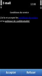 Nokia N8-00 - E-mail - Configuration manuelle - Étape 12