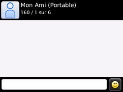 BlackBerry 8520 - Contact, Appels, SMS/MMS - Envoyer un SMS - Étape 10