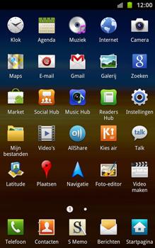 Samsung N7000 Galaxy Note - Voicemail - handmatig instellen - Stap 3