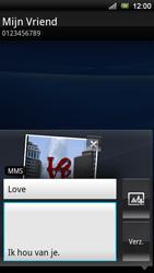 Sony Xperia Ray - MMS - Afbeeldingen verzenden - Stap 12