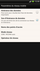 HTC S728e One X Plus - Internet - configuration manuelle - Étape 7