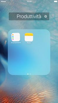 Apple iPhone 6s Plus - Operazioni iniziali - Personalizzazione della schermata iniziale - Fase 5