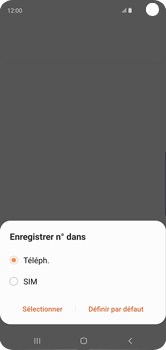 Samsung Galaxy S10 - Contact, Appels, SMS/MMS - Ajouter un contact - Étape 6