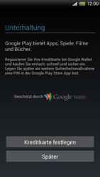 HTC One X - Apps - Einrichten des App Stores - Schritt 14
