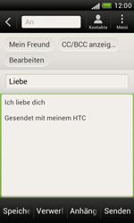 HTC Desire X - E-Mail - E-Mail versenden - 9 / 16
