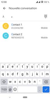 Crosscall Core M4 - Contact, Appels, SMS/MMS - Envoyer un MMS - Étape 7