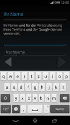 Sony Xperia T3 - Apps - Konto anlegen und einrichten - 6 / 22