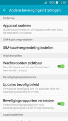 Samsung Galaxy S6 Edge - Beveiliging en ouderlijk toezicht - Hoe wijzig ik mijn SIM PIN-code - Stap 6