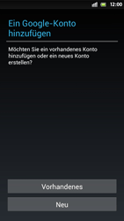Sony Xperia S - Apps - Einrichten des App Stores - Schritt 4