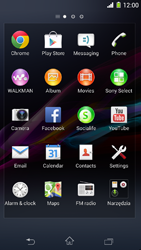 Sony Xperia Z1 Compact - Applications - Setting up the application store - Step 3