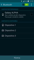 Samsung G850F Galaxy Alpha - Bluetooth - Collegamento dei dispositivi - Fase 6