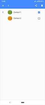 Sony Xperia 1 - Contactgegevens overzetten - delen via Bluetooth - Stap 5