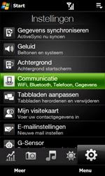 HTC T7373 Touch Pro II - bluetooth - aanzetten - stap 4