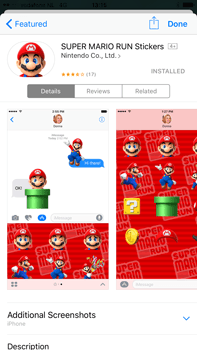 Apple Apple iPhone 6 Plus iOS 10 - iOS features - Send iMessage - Step 20