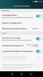 Huawei P8 Lite - Sécuriser votre mobile - Activer le code de verrouillage - Étape 10