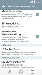 LG Leon - Fehlerbehebung - Handy zurücksetzen - Schritt 8