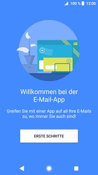 Sony Xperia XA2 Ultra - E-Mail - Konto einrichten - 0 / 0