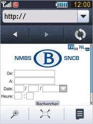 Samsung B3410 Star Qwerty - Internet - Navigation sur Internet - Étape 13