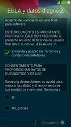 Samsung G850F Galaxy Alpha - Primeros pasos - Activar el equipo - Paso 6