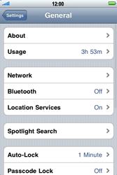 Apple iPhone 3G S - Internet - Usage across the border - Step 4