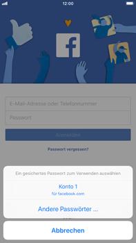 Apple iPhone 6s Plus - iOS 11 - Automatisches Ausfüllen der Anmeldedaten - 5 / 6