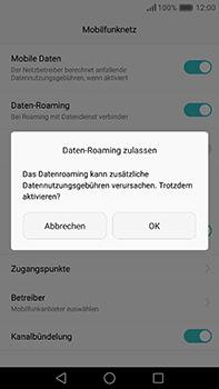 Huawei P9 Plus - Ausland - Im Ausland surfen – Datenroaming - 9 / 12