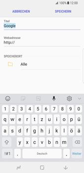 Samsung Galaxy S8 - Android Oreo - Internet und Datenroaming - Verwenden des Internets - Schritt 9