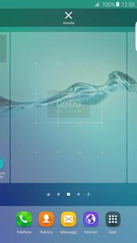 Samsung Galaxy S6 edge+ (G928F) - Operazioni iniziali - Installazione di widget e applicazioni nella schermata iniziale - Fase 6