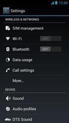 Acer Liquid Z5 - Internet - Manual configuration - Step 4