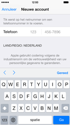 Apple iPhone 5s (iOS 8) - apps - account instellen - stap 23
